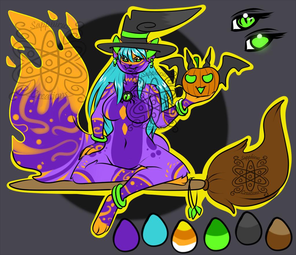 Witch Cat +Design 4 Sale+