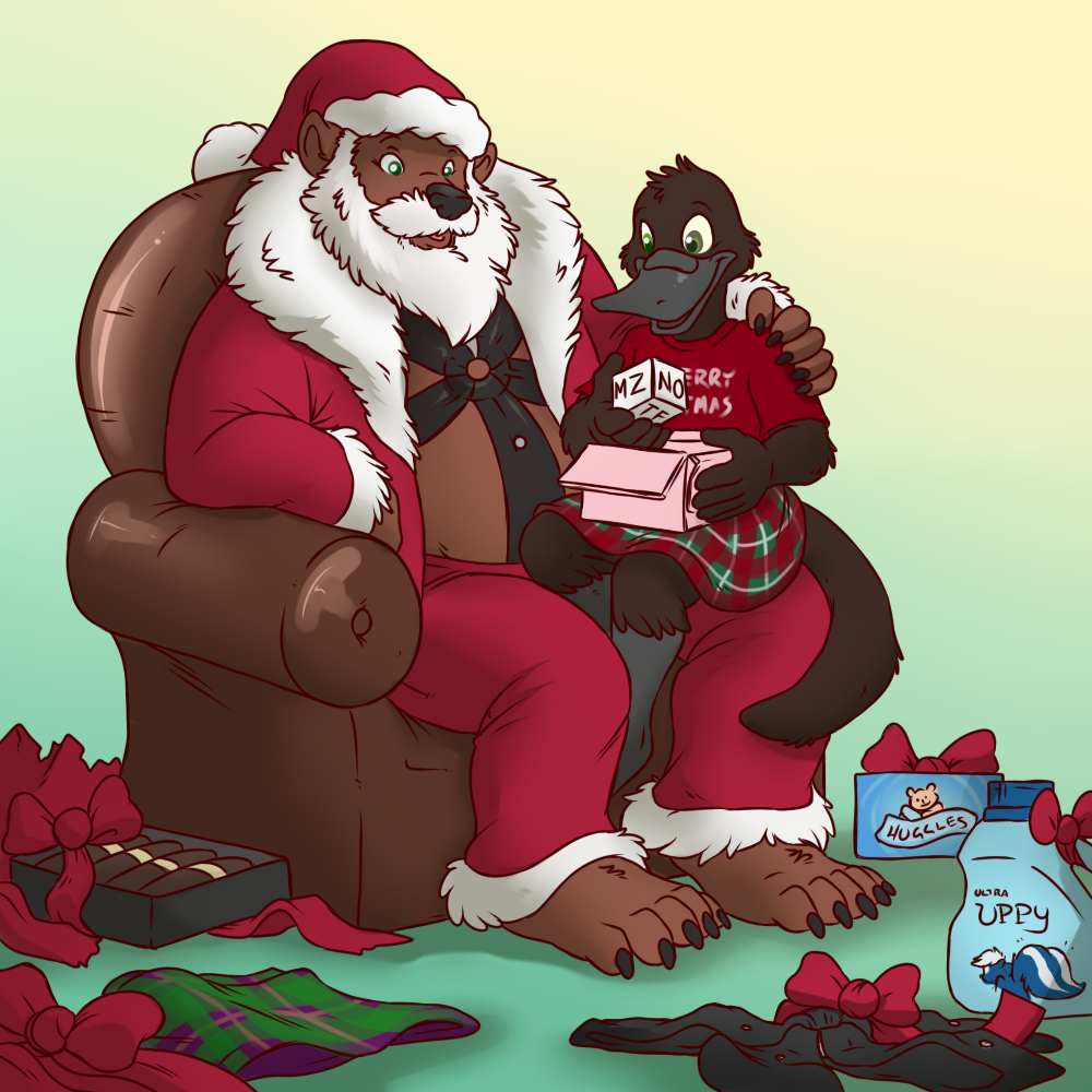 Christmas Gifts [Stream Commission]