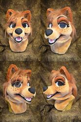 Wolf Girl Head