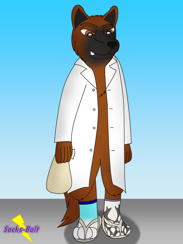 Dr Soft's New Socks Pg 2/2 - Sock TF *Story Included* — Weasyl