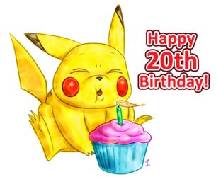 Happy 20th Birthday, Pokemon!