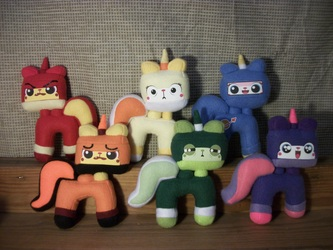 Unikitty in every color of the rainbow!