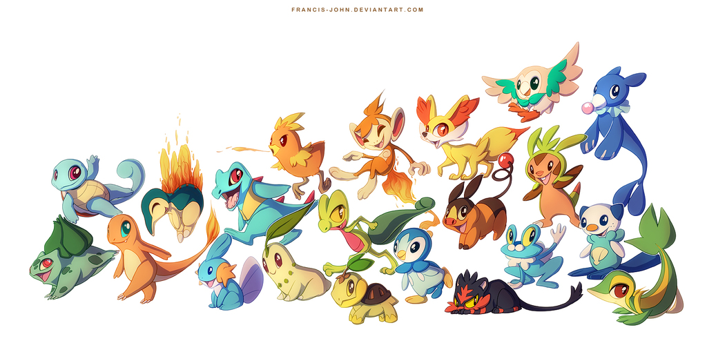 7 Generations of Starters