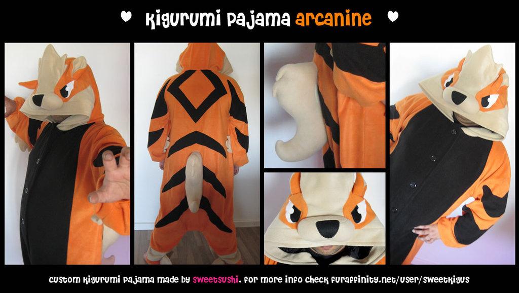 Kigurumi Pajama Arcanine