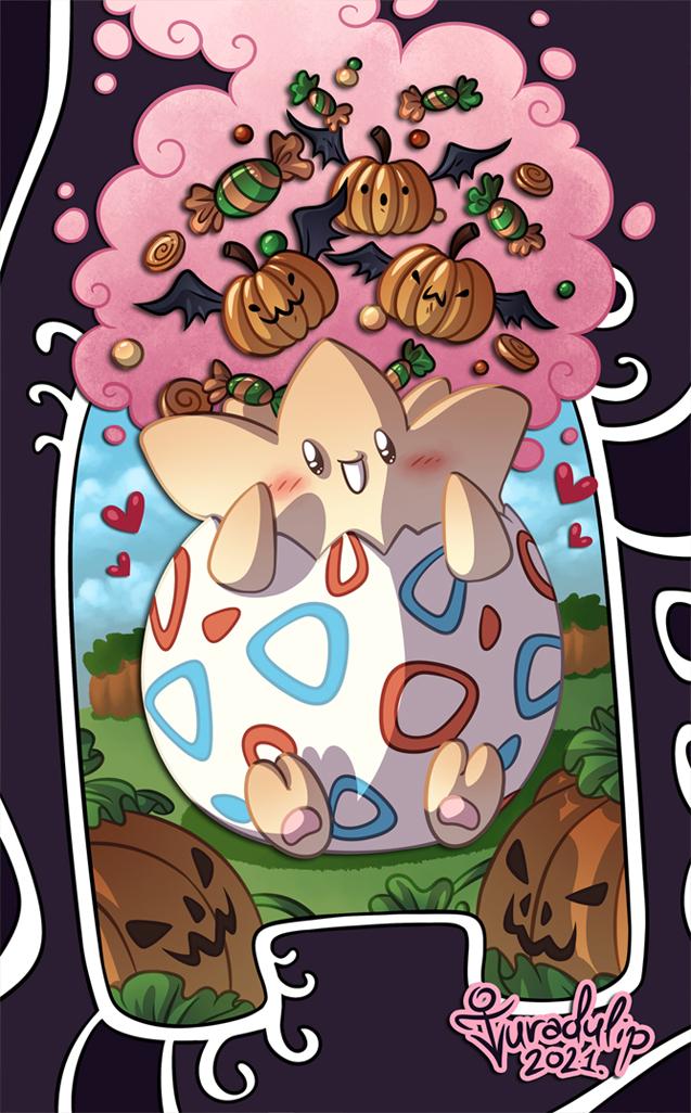 Most recent image: A Togepi Halloween