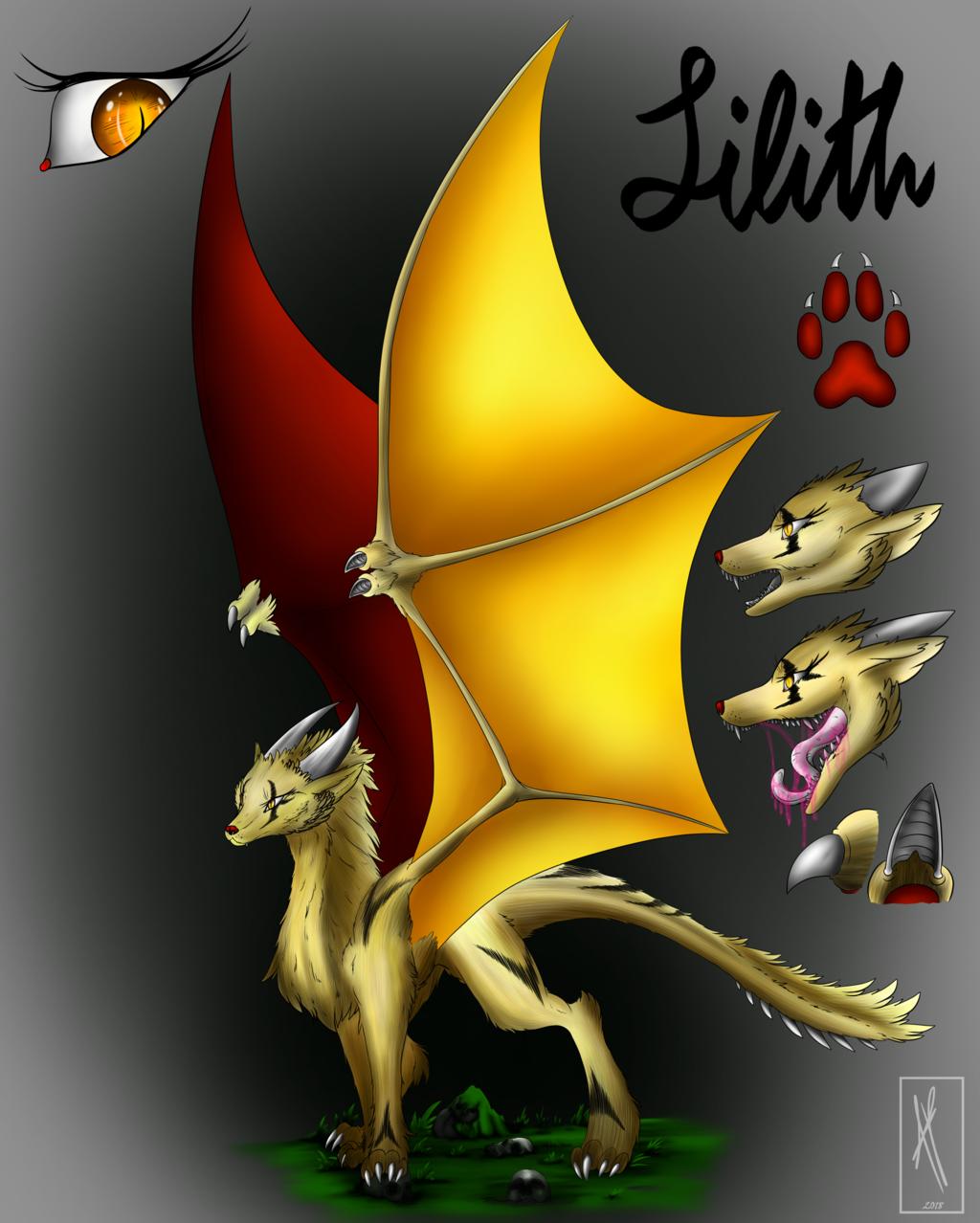 Lilith Character Sheet - Roleplay Original Charact