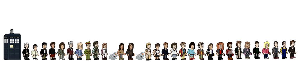 The ten doctors character list