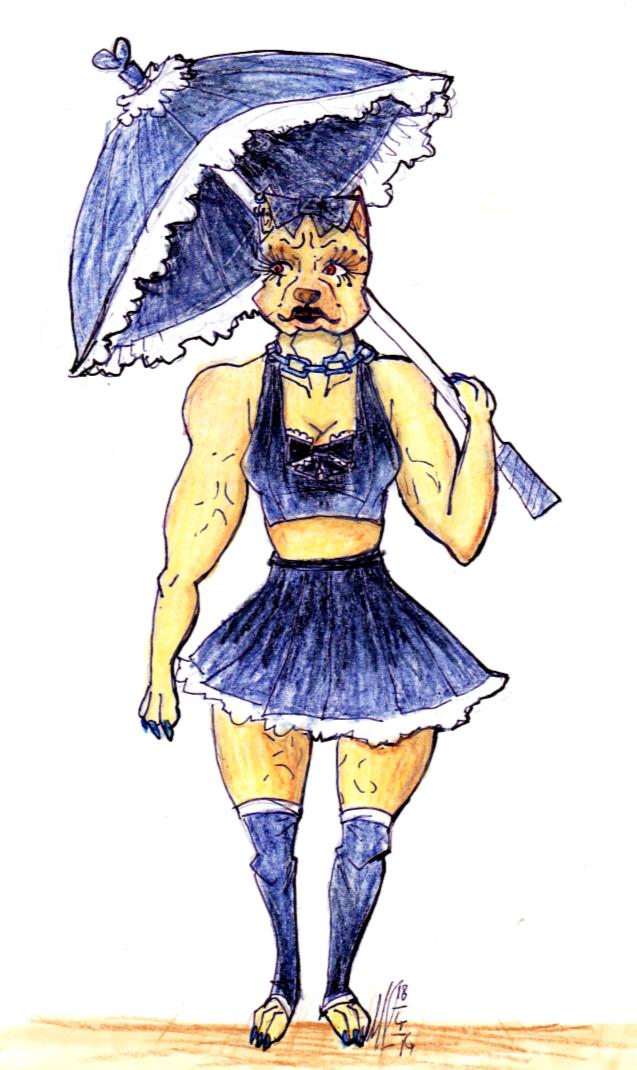 21. Canine Girl
