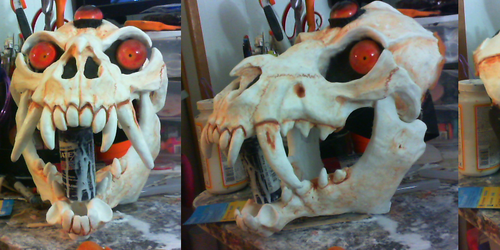 Limited run halloween skull masks