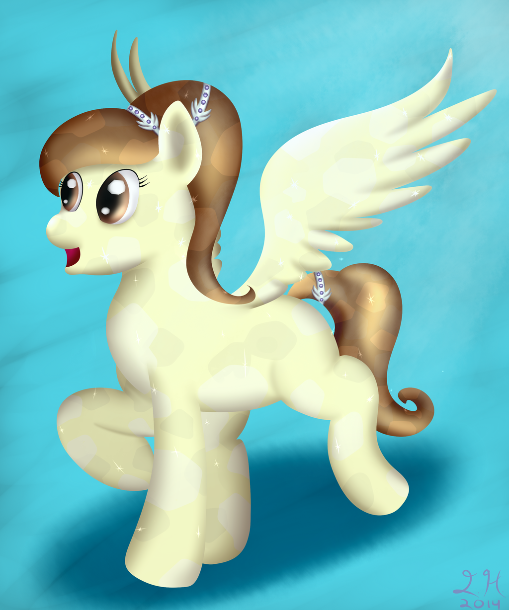 Crystal Ery - Pony Commission
