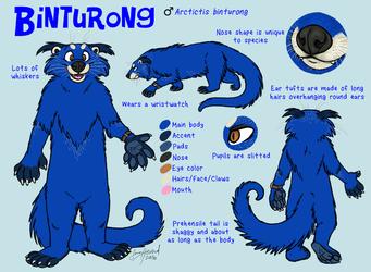 Binturong Character Reference
