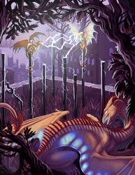 The Mini Dragon Series - Electric Element - by Acidapluvia