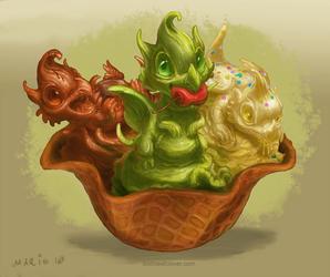 Ice Cream Dragons Bowl
