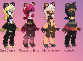 ADOPTABLE BEARTHINGS -BATCH 1- OPEN
