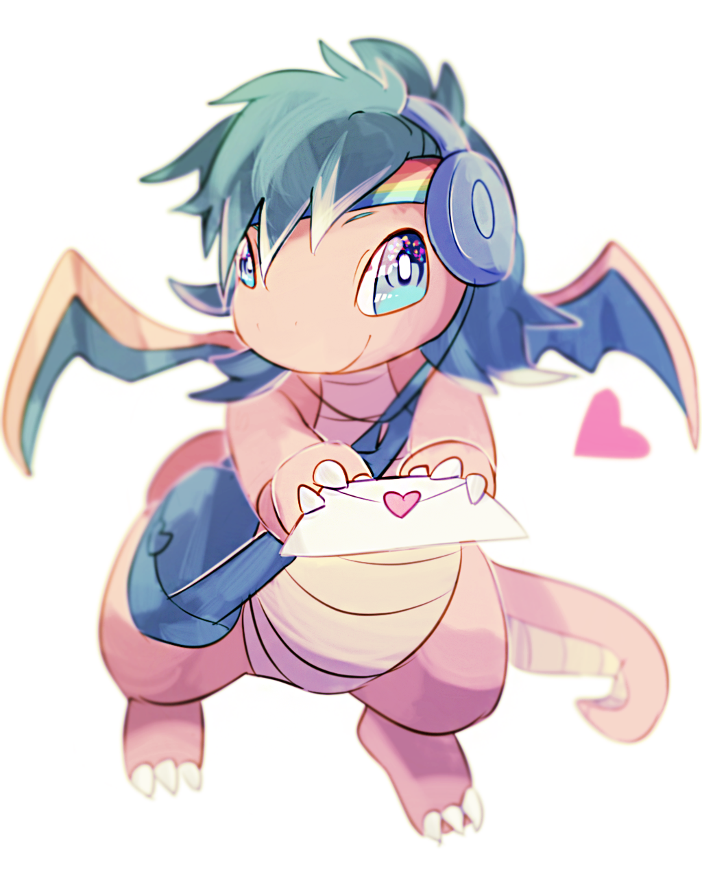 Dragonite love letter delivery!