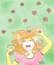 Rina in Springtime