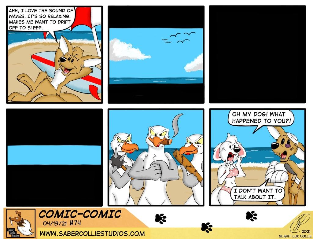 Comic-Comic #74 (4/14/21)