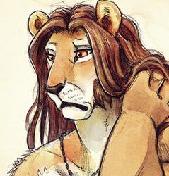 Humble Lion - Sketch