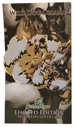 Oriana Nine Tailed Wild Dog Enamel Pin