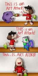 "Smeargle Used ""Art Attack"" (Mini Comic)"