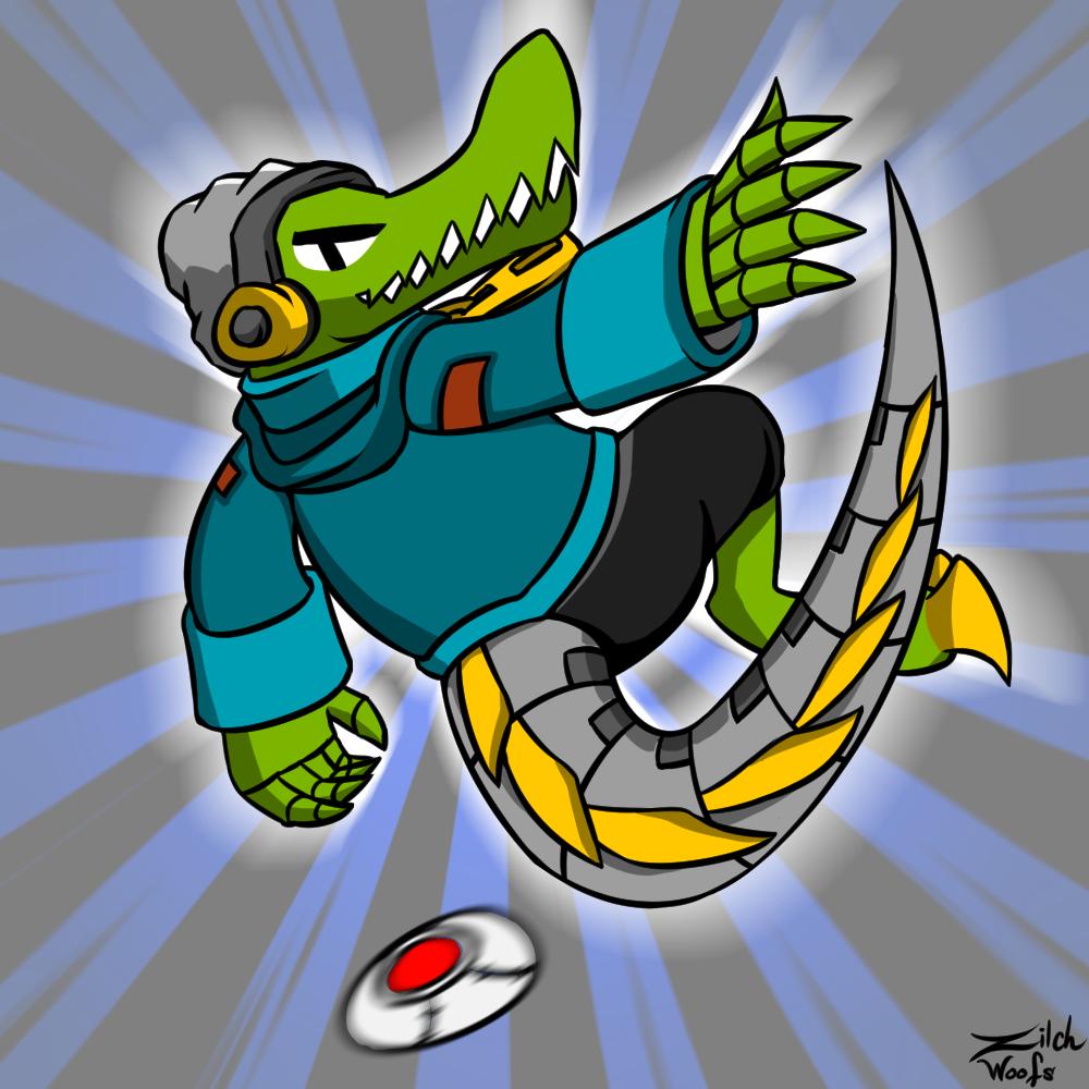 Cyborg Crocodile Latch
