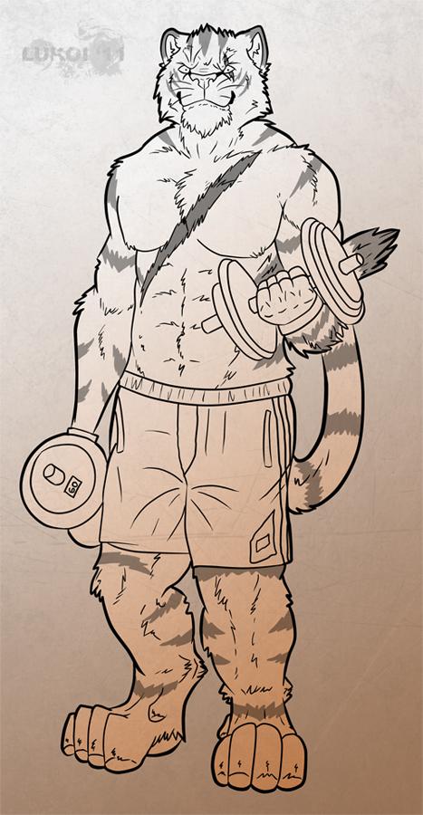 Crazy-Husky Commission 1/2