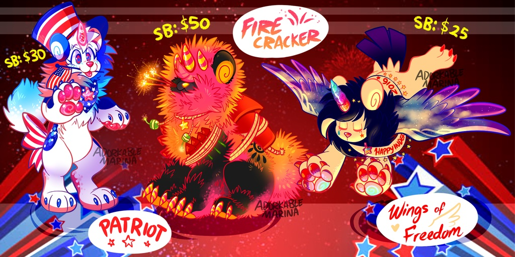 SPECIAL EVENT! 4th of July DandyLyon Auction [OPEN]