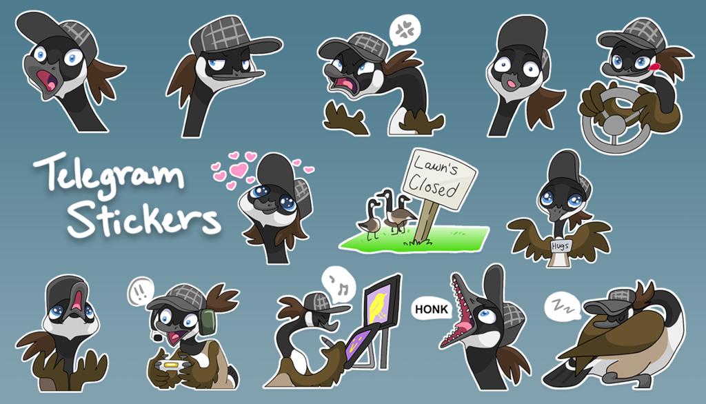 Sixel's Telegram Stickers