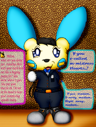 "Milton the Minun (Alice Hearts' ""Assistant."")"