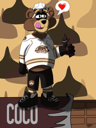AHL MAX Series Number 11 of 30: Coco - Hershey Bears
