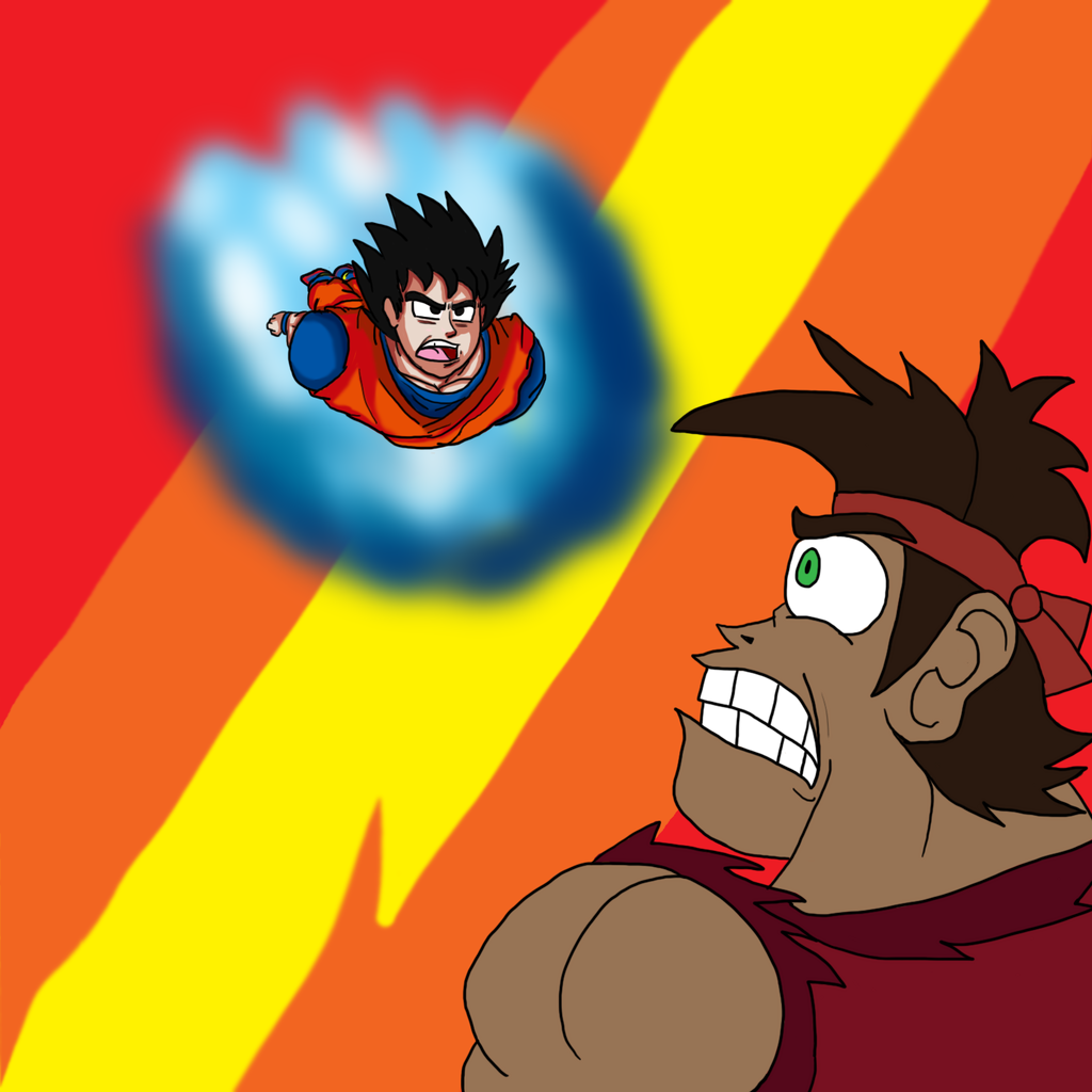 Goku vs Dave the Barbarian