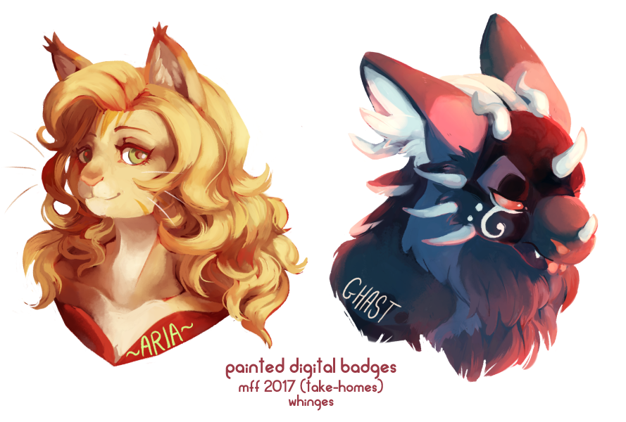 [MFF17] Painted Digital Badges (Take-Homes)