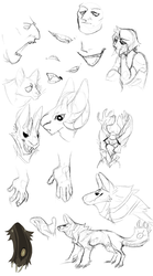 sketch dump number who knows