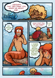 """That """"Sex Thing"""" - For Fathme Comic - Page 1"""