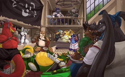 Round the Tavern