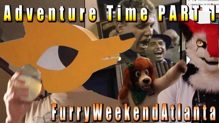 Adventure Time 1 At Furry Weekend Atlanta 2017 VIDEO
