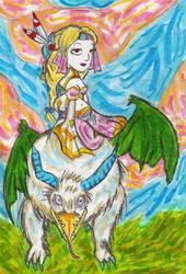 Frederica and Thunderhawk