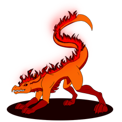 Halloween version of Salamander, but different