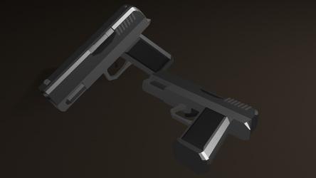 Velithian VP28 Modified Handgun