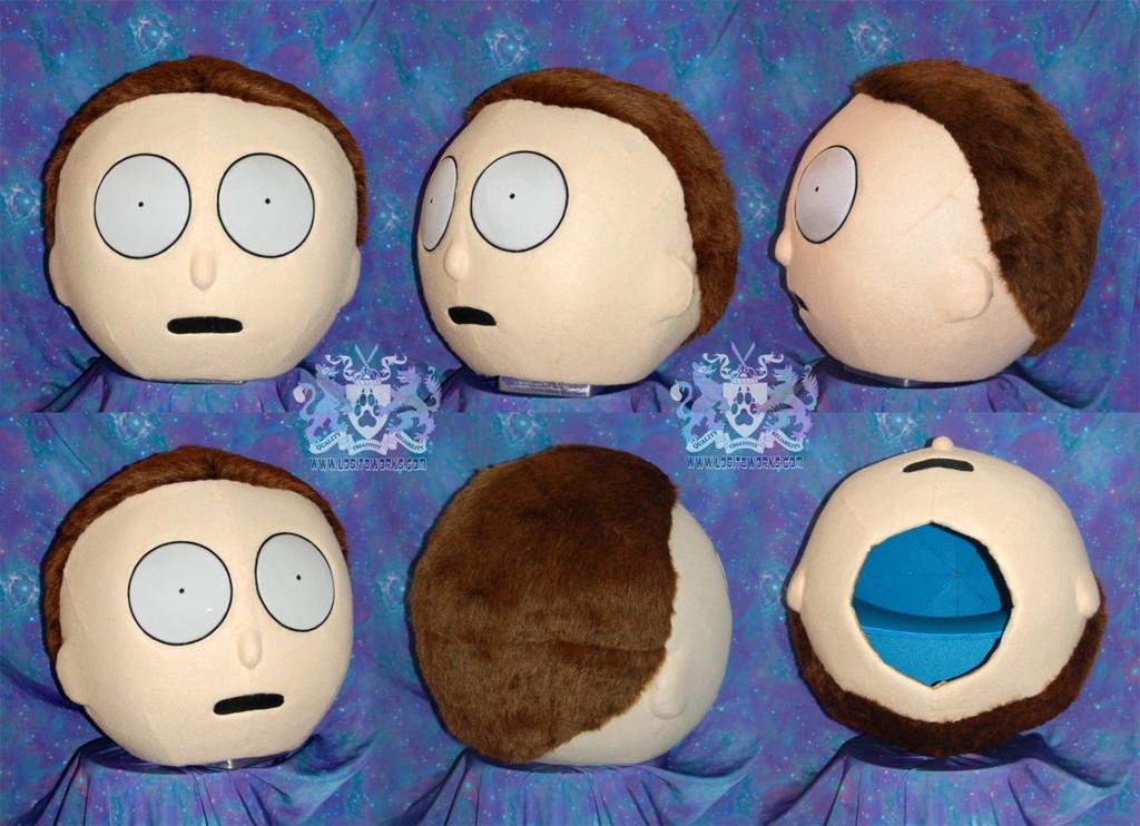 Morty Cosplay Head