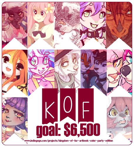 KoF artbook ~ help support us!