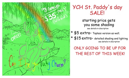 YCH St. Paddy's day Sale!