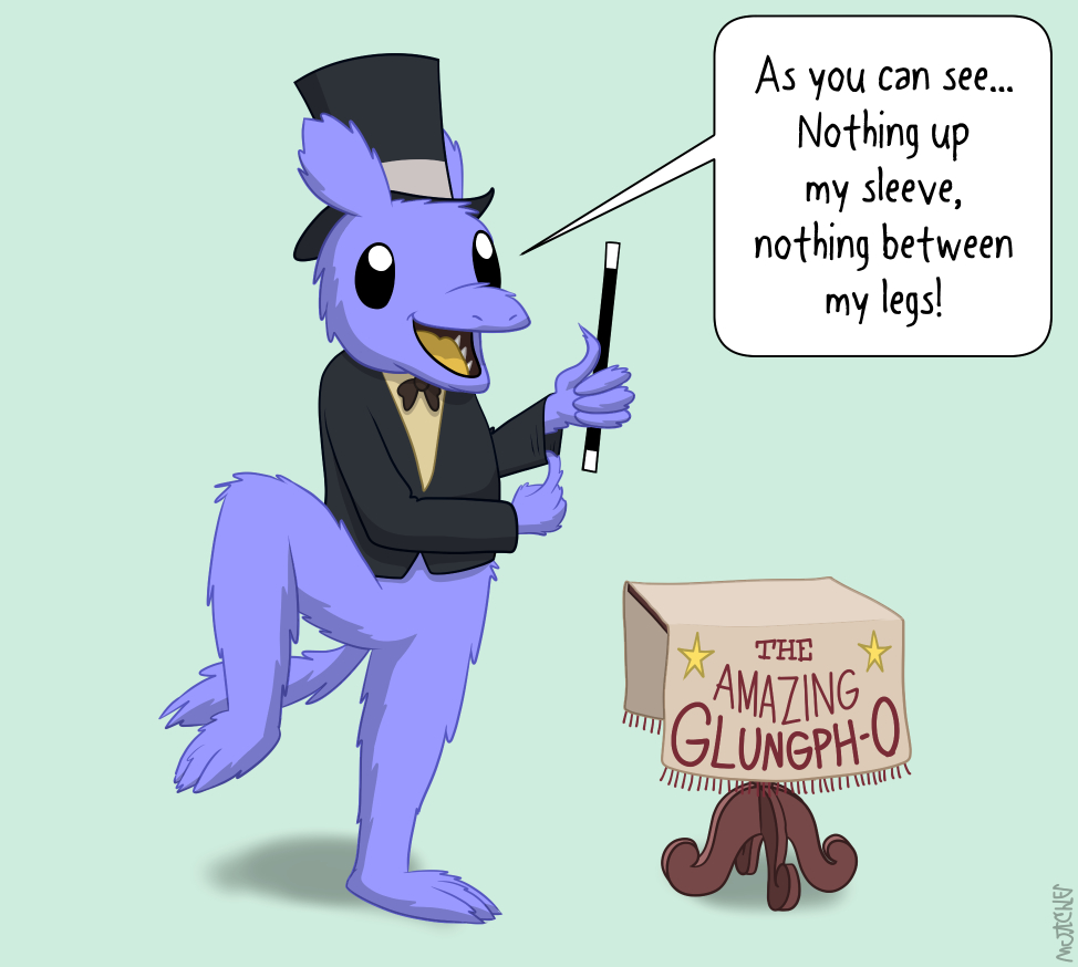 Glungph does a magic