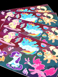 Mane Six Stickers
