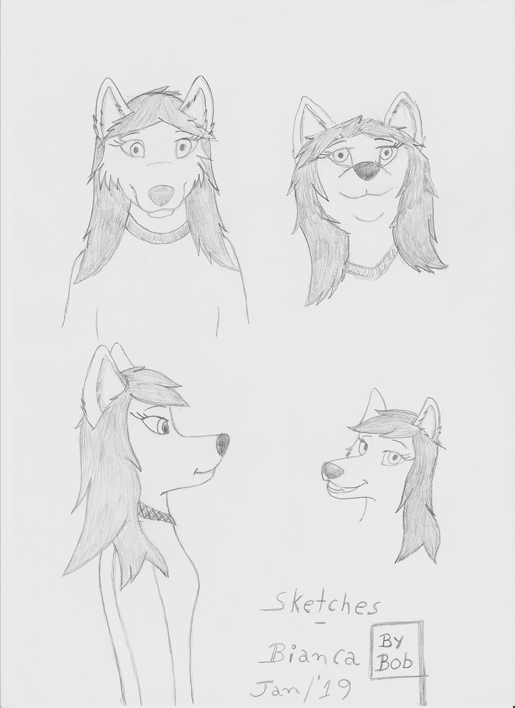 Most recent image: Sketches - Bianca
