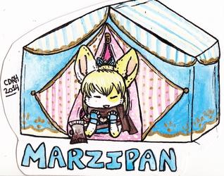 Marzipan Tent Badge