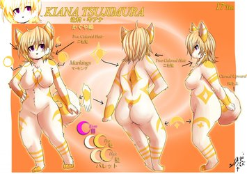 Commission: Kiana Reference
