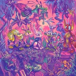 jungle fooliage
