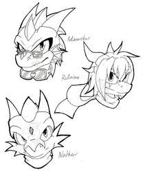 [WIP/Gift] Chaos Dragons Pt1