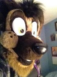 My head's too big for selfies.